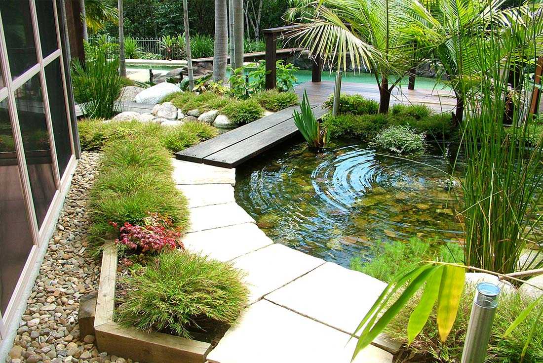 Sunshine coast landscape services harmony landscapes for Landscape design sunshine coast